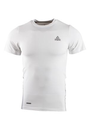 PEAK kompresné tričko - white