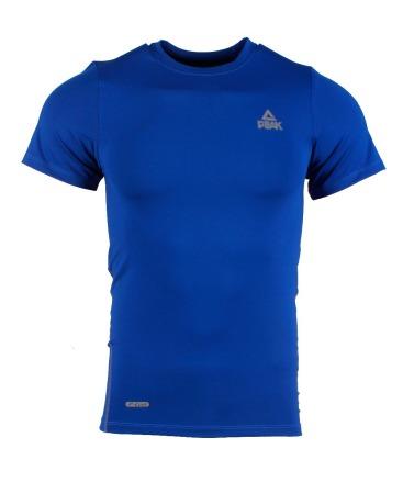 PEAK kompresné tričko - blue