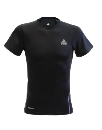 PEAK kompresné tričko - black