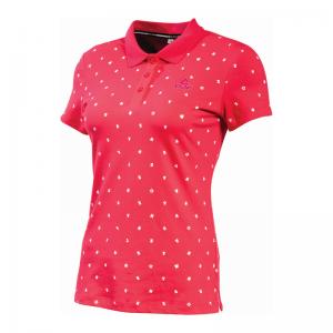 PEAK Polo Classic dámske tričko - rose