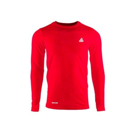 PEAK kompresné tričko dlhý rukáv - red