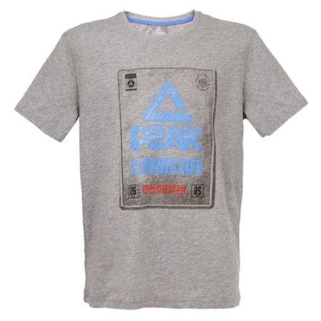 PEAK classic tričko - grey