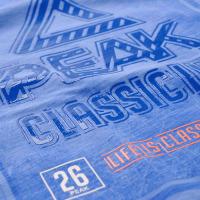 Tričko PEAK classic modré