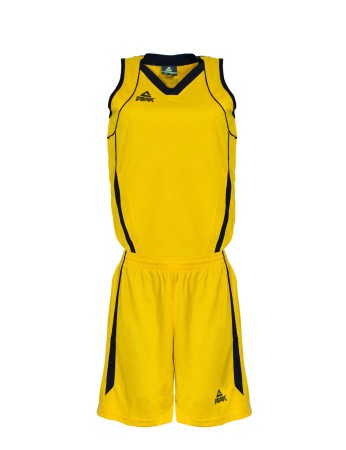 Basketbalový dres ženský yellow/black
