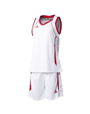 Basketbalový dres ženský white/ree