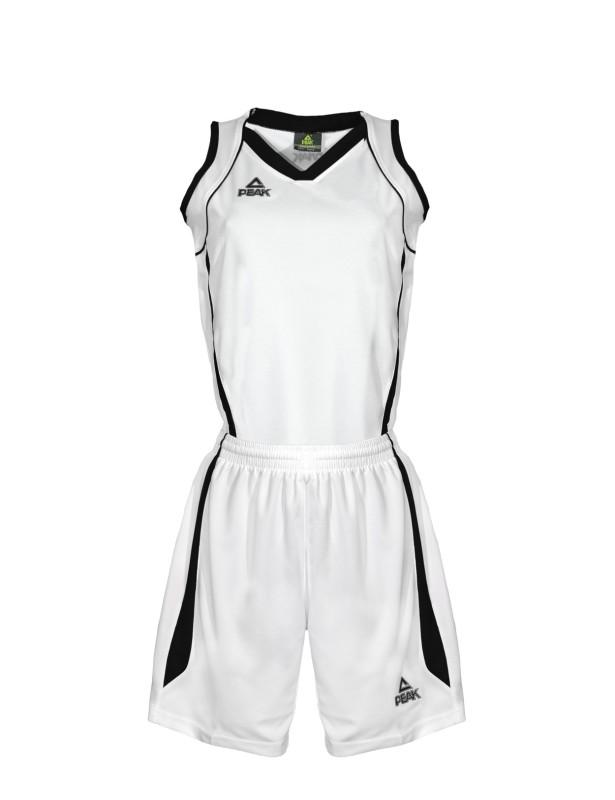 Basketbalový dres ženský white/black
