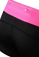 PEAK dámské sportovní šortky - black/rose