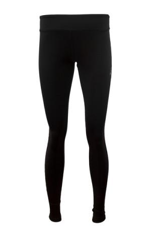 PEAK dámske dlhé bežecké elasťáky - black