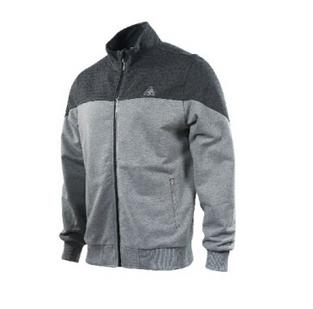 PEAK pánská mikina na zips - melange grey