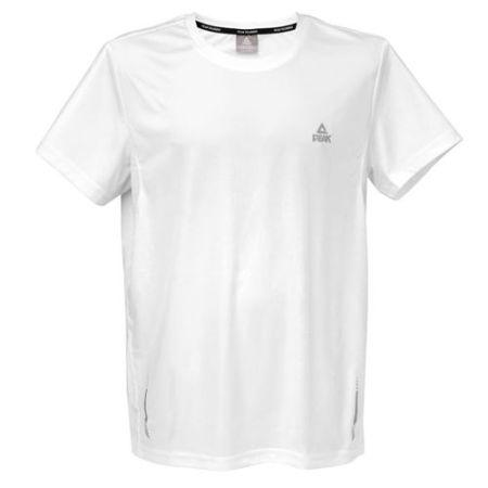 PEAK Pánske bežecké tričko - white