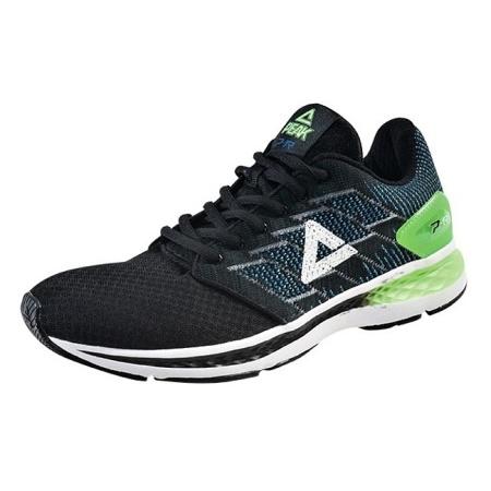 PEAK bežecká topánka - black/fluorescent green
