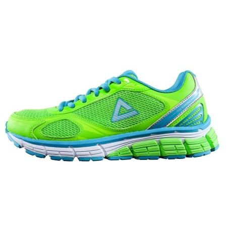 PEAK Bežecká obuv - fluorescent Green/Aquarius Blue