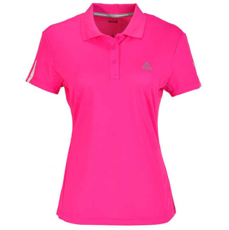 PEAK Cross Training dámske funkčné polo tričko - fluorescent rose
