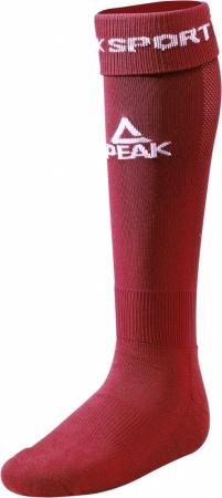 PEAK Futbalové ponožky - burgundy
