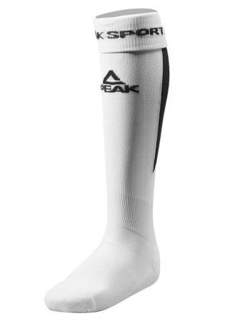 PEAK Futbalové ponožky - white/black