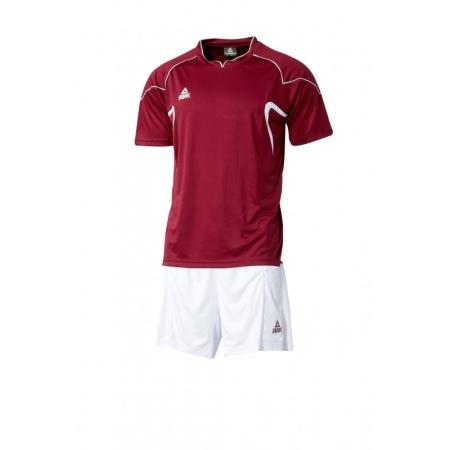 PEAK futbalová súprava - burgundy/white