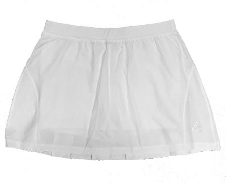 PEAK sukňa s kraťasy - white